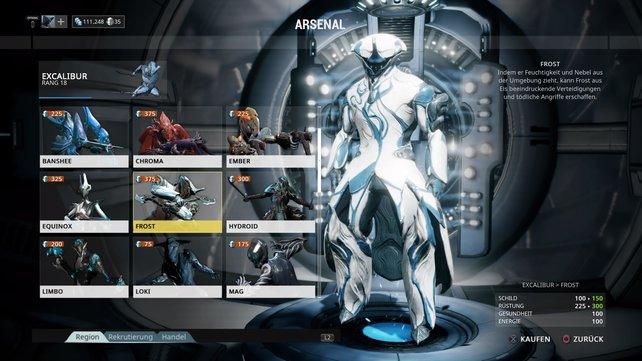 Warframe: Frost
