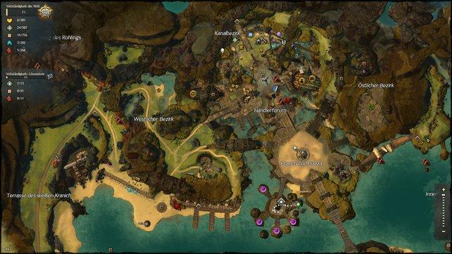 Gw2 Karte.Faq Zur Karte Teil 2 Guild Wars 2 Komplettlösung Spieletipps