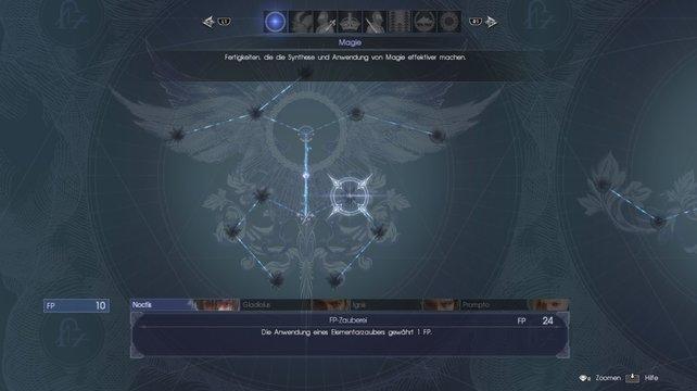 Final Fantasy 15 Schnell Leveln Und Fertigkeitenpunkte Farmen
