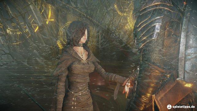 Die Enden bei Demon's Souls hängen mit der Schwarzen Jungfrau zusammen. Wie werdet ihr euch entscheiden?