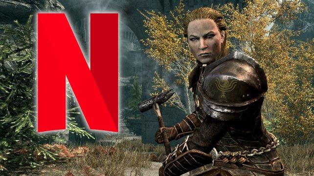 Bei Netflix könnte eine Skyrim-Serie in Entwicklung sein.