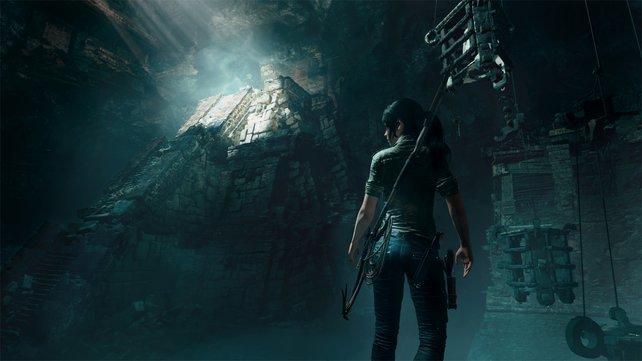 """In dieser Ruine kam erstmals richtiges """"Tomb Raider""""-Feeling auf. Inklusive kleiner Rätsel."""