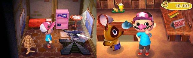 Auf diesen Bildern befinden sich drei Nintendo-Objekte. Der Schrank mit dem GameCube lässt sich hin und wieder separat in der Fundgrube kaufen, ganz ohne Glückskeks.