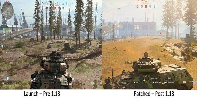 Die Screenshots von CoD: Modern Warfare zeigen deutliche Veränderungen.
