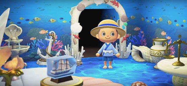 In Animal Crossing: New Horizons könnt ihr eure Insel und euer Haus so gestalten, wie ihr wollt.