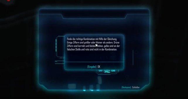 Wenn ihr nicht mehr wisst, was bei ELEX in der Anleitung zum Hacken stand, seht ihr es in diesem Bild.