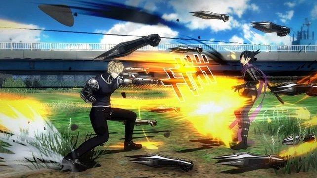 """In den Kämpfen selbst bedient sich One Punch Man: A Hero Nobody Knows klassischer """"Beat 'em up""""-Menchaniken."""