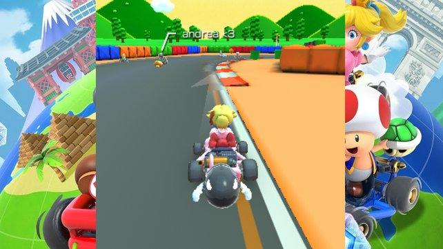 So sieht der Kugelwilli in Mario Kart Tour aus.