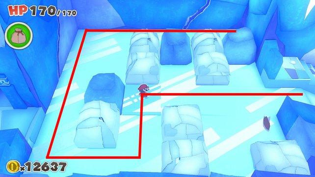 Benutzt diesen Weg, um dieses Schieberätsel zu lösen.