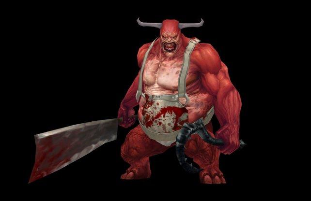 Der Schlächter - noch bekannt aus dem ersten Teil der Reihe, kehrt in Diablo 3 zurück
