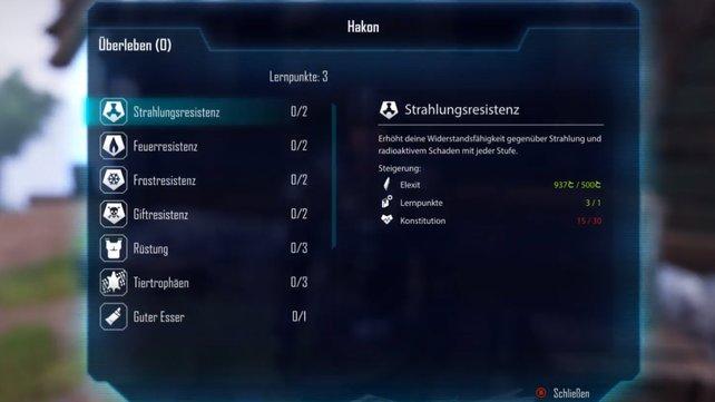 Hakon ist ein Überlebenskünstler und kann z.B. eure Resistenzen erhöhen.