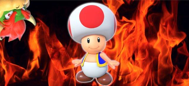 """Toad hat es auf """"Super Mario""""-Spieler abgesehen. Sogar Bowser muss sich in Acht nehmen. (Bildquelle: Getty Images / Bondariev)"""