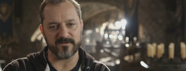 Im Bild: Chris Metzen. (Quelle: Warcraft - The Movie: Official Featurette)