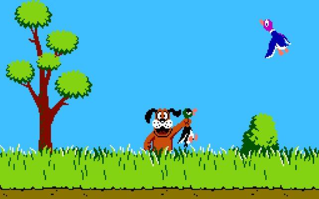 Duck Hunt auf NES: Im Original gibt es von Horror keine Spur.