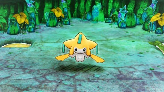 Nach einem Sieg über Jirachi, schließt sich euch das Pokémon nicht nur an, sondern erfüllt euch auch einen Wunsch.