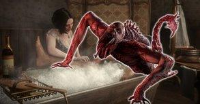 Horror-Badewanne verwandelt Spieler in ein Monster