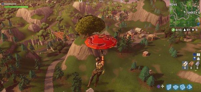 Seit Season 3 gibt es diesen coolen roten Regenschirm!