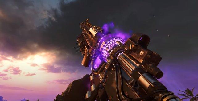 """Ist sie nicht wunderschön? Die Wunderwaffe """"RAI K-84-Prototyp"""" könnt ihr auf Firebase Z bauen."""