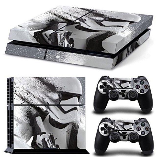 PS4 - Skins, Folien und Aufkleber: Stormtrooper.