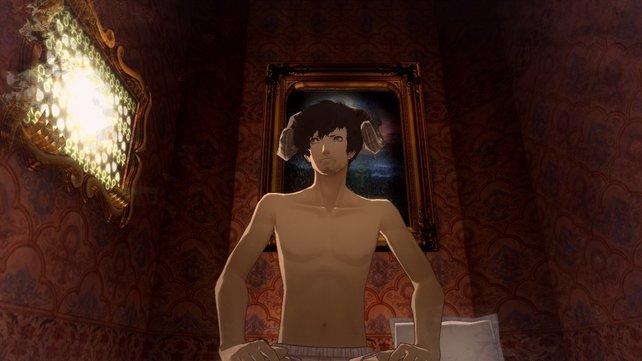 Vincent aus Catherine: In seinen sexuellen Albträumen erscheint er als antropomorphes Widder-Wesen.