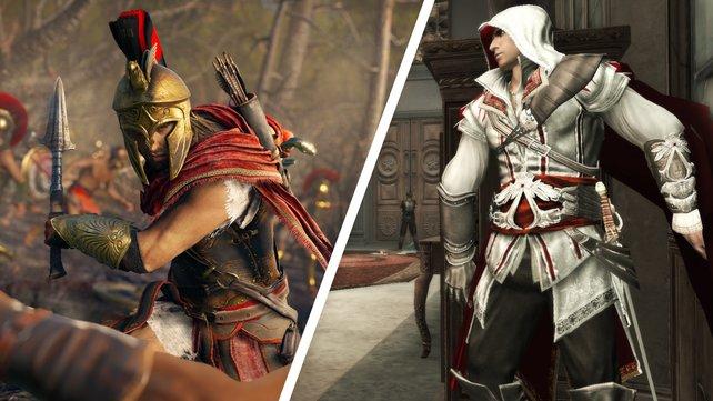 """""""Assassin's Creed""""-Spiele erkunden verschiedene Epochen der Geschichte."""
