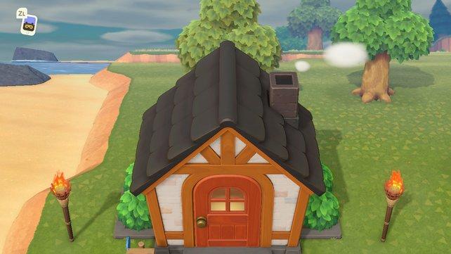 Die Farbe eures Daches in Animal Crossing: New Horizons könnt ihr in bis zu acht verschiedene Farben ändern und so eurem Heim seinen eigenen Charme verleihen.
