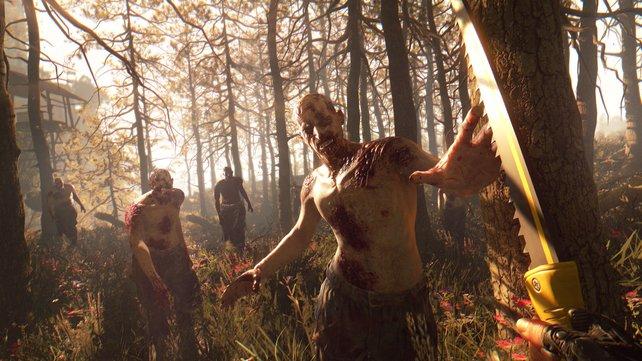 In der Masse sind die Zombies gefährlich.