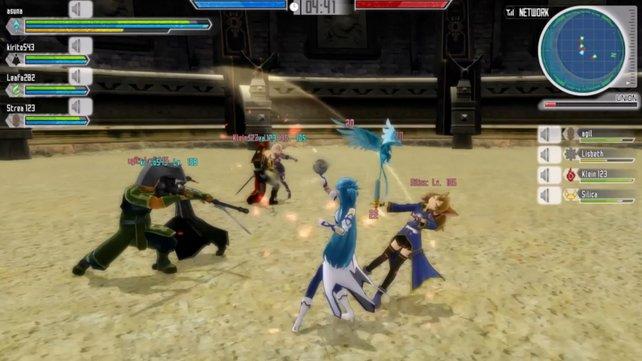 Mehrspieler-Action: Lost Song verspricht nicht nur gemeinsame Koop-Bosskämpfe á la Monster Hunter, sondern auch spannende PvP-Teamkämpfe.