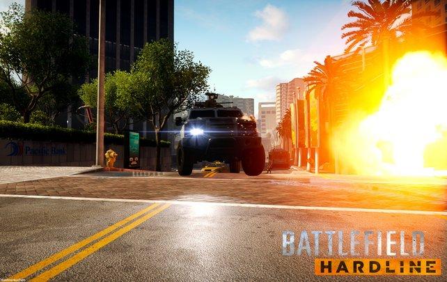 Räuber und Gendarme mal anders. Willkommen in Battlefield - Hardline!