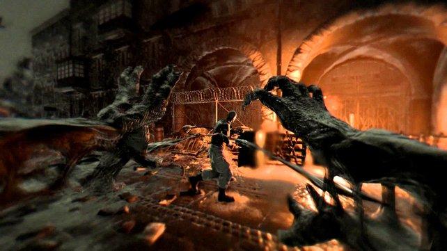 So seht ihr das Spiel aus der Perspektive des Nachtjägers.