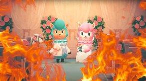 Höllenfeuer zerstören Hochzeiten