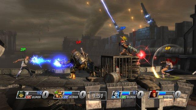 PlayStation All-Stars Battle Royale: Trotz schicker Grafik und Fan-Favoriten kein so großer Erfolg wie Smash Bros.