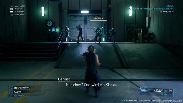 Stellt euch den vier Gardisten und schickt sie zurück zum Planeten!