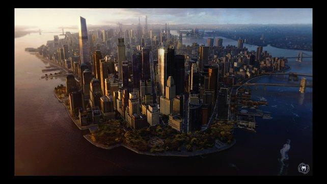 Schauplatz des Geschehens: Manhattan in New York.