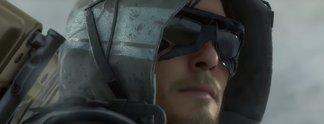 Death Stranding: Hideo Kojima zeigt einen schlafenden Protagonisten