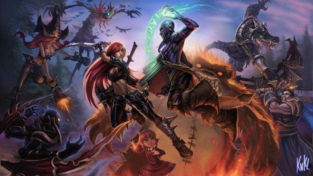 League of Legends: In Deutschland nicht als E-Sports gesehen.