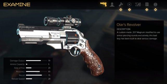 Holt euch die seltene Boss-Waffe: Otar's Revolver.