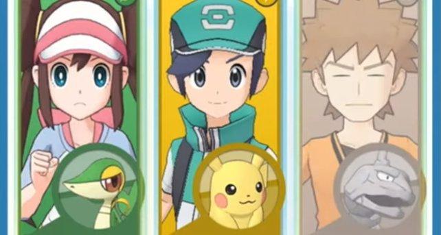 Serpifeu (links) gehört zu den Pokémon, die sich entwickeln können.