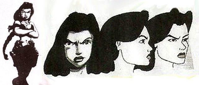 Um ein Haar wäre aus Miss Croft Senorita Cruz geworden.