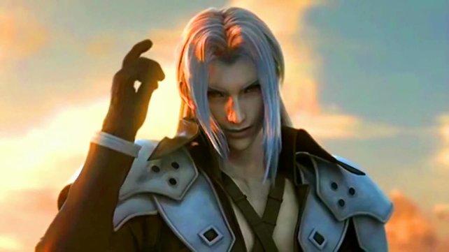 Sephiroth ist böse. Wenn ihr den auf der Straße trefft, redet ihr besser nicht mit ihm.