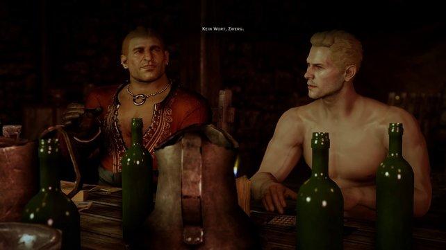 Komplexe Dialog-Systeme wie in Dragon Age - Inquisition stellen die Sprecher vor Herauforderungen.