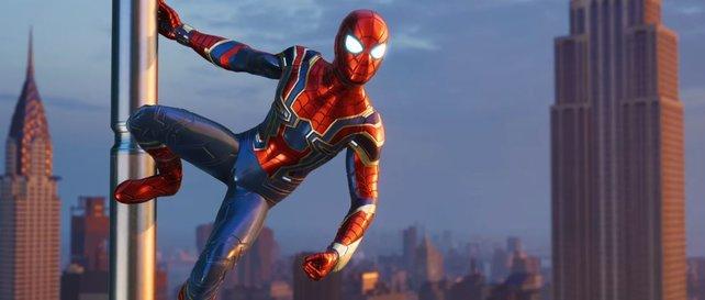 "Der ""Iron Spider""-Anzug ist an den Film ""Avengers – Infinity War"" angelehnt."