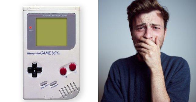 Auch der Game Boy hatte so seine Probleme...