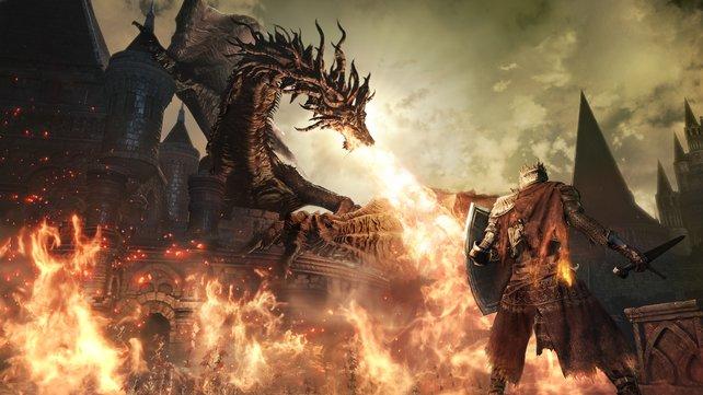 Achtung, es wird brenzlig! Auch Dark Souls 3 wird kein Spiel für Anfänger.