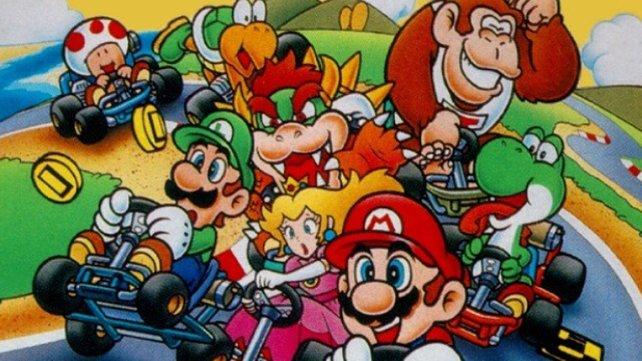 Mario Kart begründet die Tradition, den Klempnerbrüdern und vielen Nebenfiguren gleichberechtigte Rollen zu verpassen.