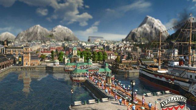 Der Pendlerkai fügt sich durch sein tolles Design harmonisch ins Hafenbild ein und verschönert ihn.