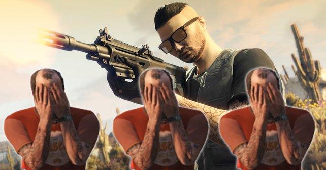 GTA Online: Manchmal sind im Gangster-Multiplayer echte Genies unterwegs – und manchmal auch nicht.