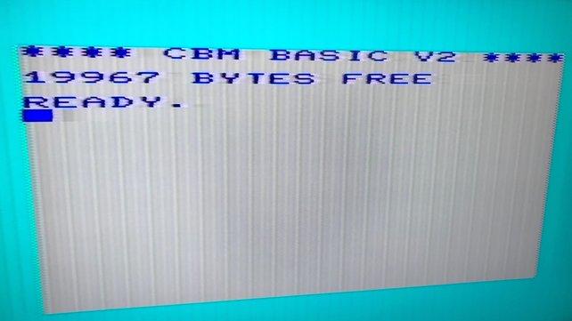 """Computer von Commodore nutzten die leicht zu erlernende Programmiersprache """"Basic""""."""