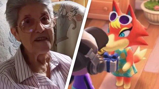 """Die """"Animal Crossing""""-Oma hat es ins Spiel geschafft."""