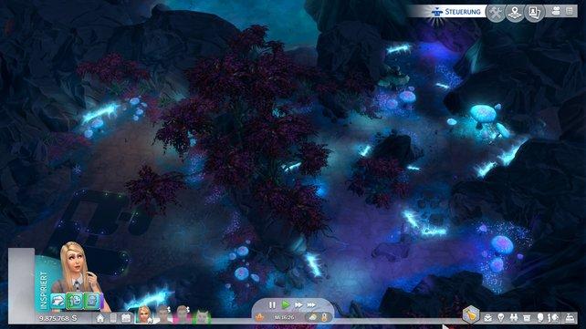 Selten hat eine Alienwelt so schön ausgesehen wie Sixam.